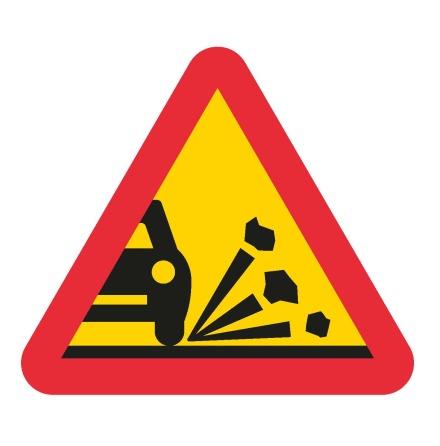 Varning för stenskott EG-N (1.1.14)
