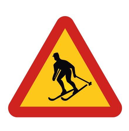 Varning för skidåkare EG-N (1.1.45)