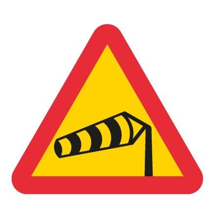 Varning för sidvind EG-N (1.1.51.1)
