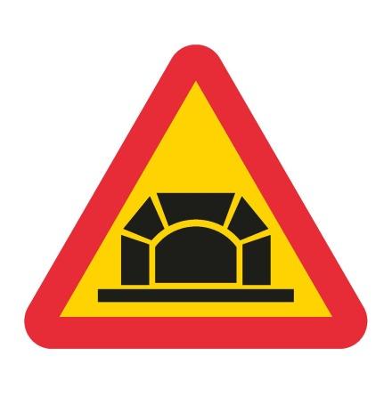 Varning för tunnel EG-N (1.1.53)