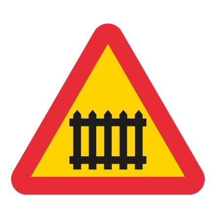 Järnvägskorsning med bommar EG-N (1.1.30)