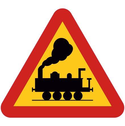 Järnvägskorsning utan bommar EG-N (1.1.31)