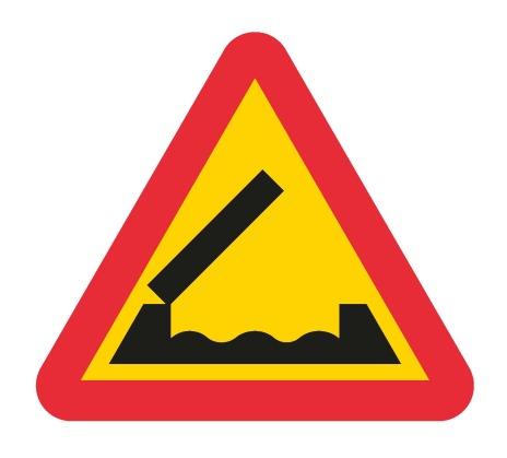 Varning för bro EG-N (1.1.4)
