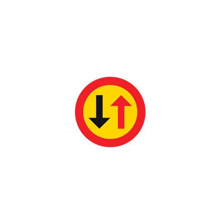 Väjningsplikt mot mötande trafik EG-N (1.2.60)
