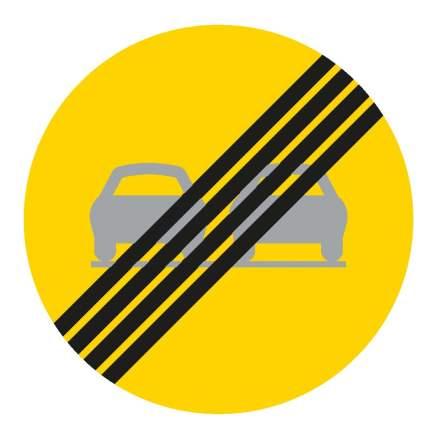 Slut på förbud mot omkörning
