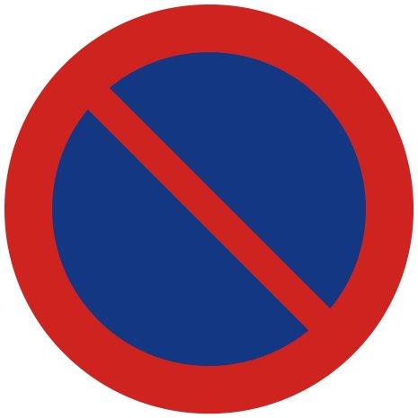 Förbud att parkera fordon