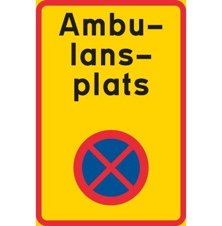 Ändamålsplats - ambulans, N-EG