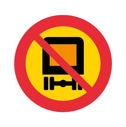 Förbud mot trafik med fordon lastat med farligt gods EG-N
