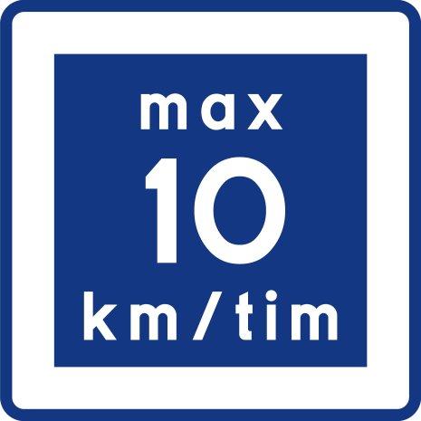 E11 Rekommenderad lägre hastighet