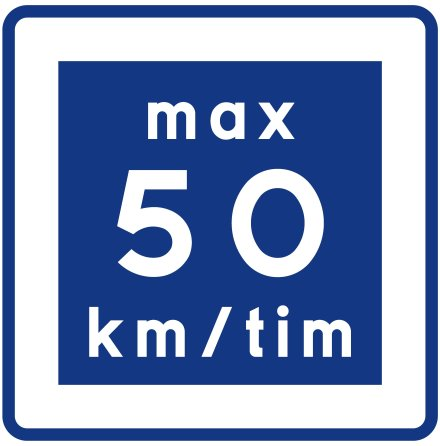 E11-5 Rekommenderad lägre hastighet