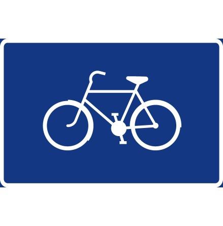 Cykelledsskylt, symbol