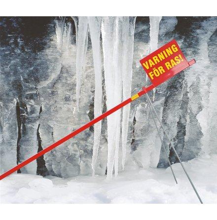 Varning för snöras